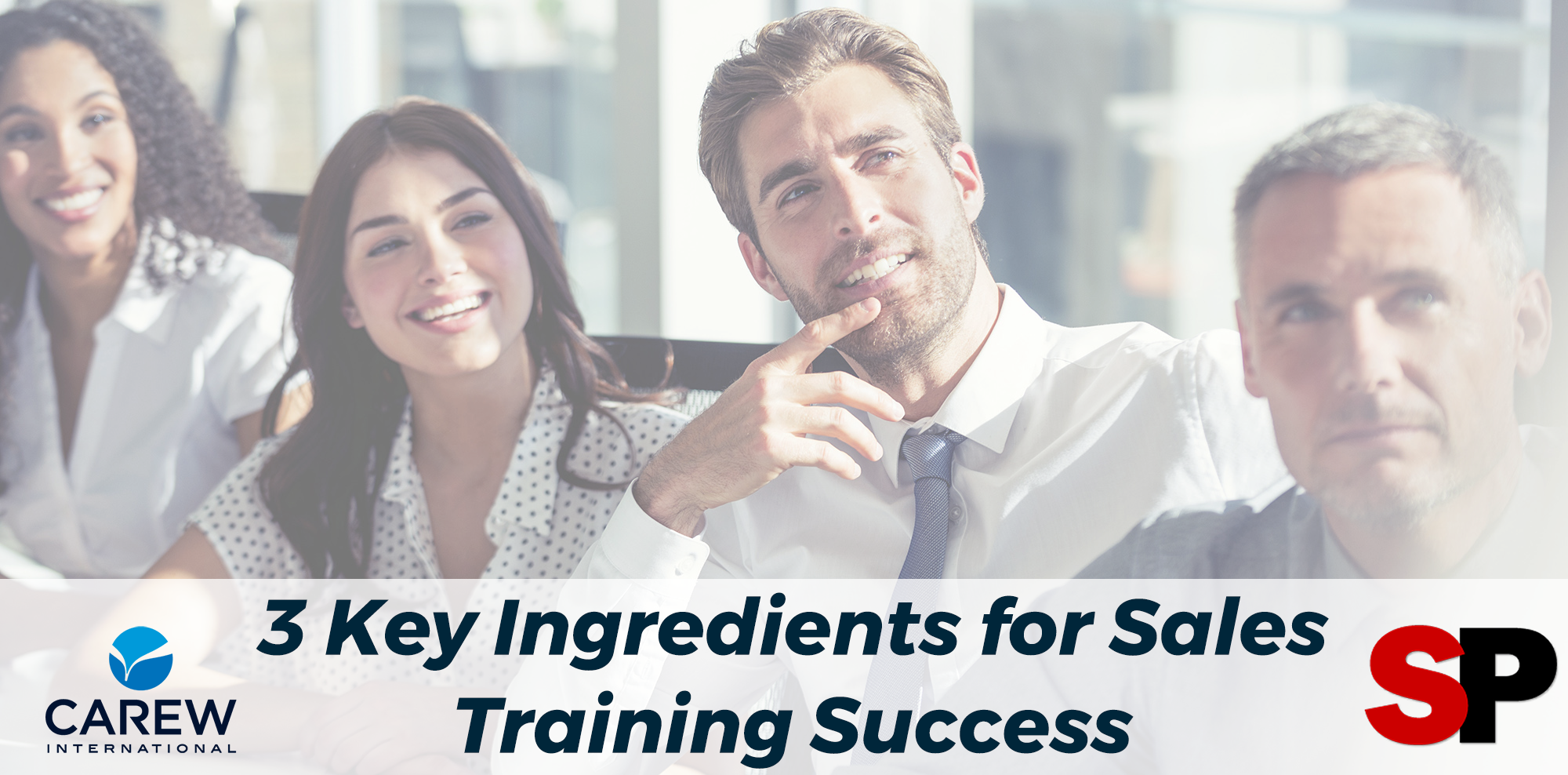 3 Key Ingredients for Sales Training Success